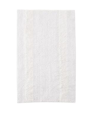 Bella Letto Heather Stripe Rug (White/Eucalyptus)
