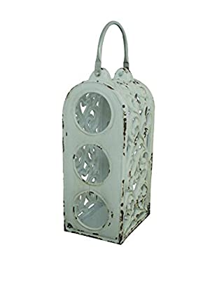The Import Collection Abeeku Wine Holder, White