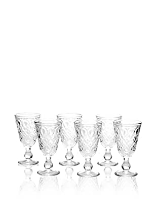 La Rochère Set of 6 Lyonnais Wine Glasses
