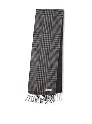 Joseph Abboud Men's Patterned Scarf (Charcoal)
