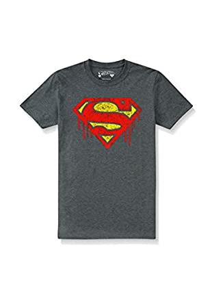 DC Comics T-Shirt Manica Corta Superman Drips