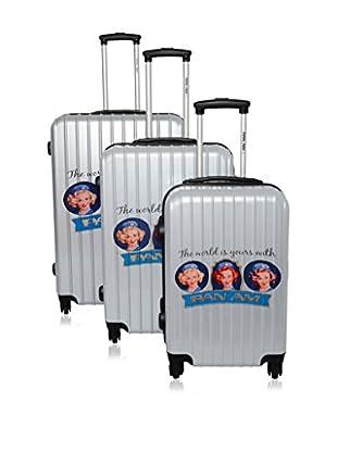 Panam Set de 3 trolleys rígidos 50300