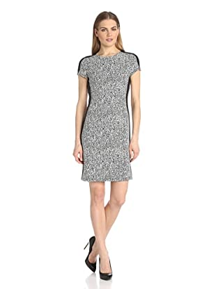 Karen Kane Women's Euro Knit Dress (Black/White)