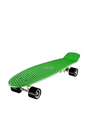 Ridge Skateboards Monopatín Big Brother Cruiser Verde / Negro