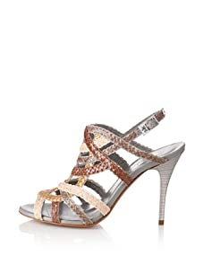 STEPHANE KELIAN Women's Opera Sandal (Platine)