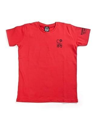 Scorpion Bay Camiseta Básica Print (Rojo)