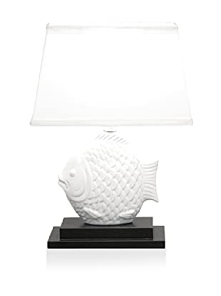 Dennis East Ceramic Fish Lamp