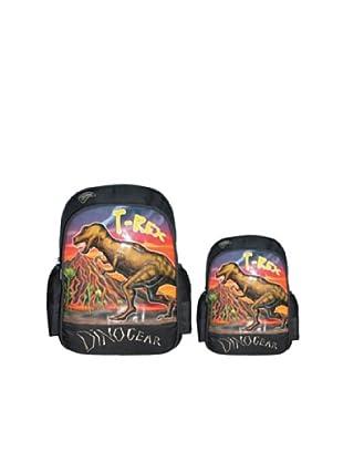 Dinosoles Mochila T-Rex (Negro / Rojo)