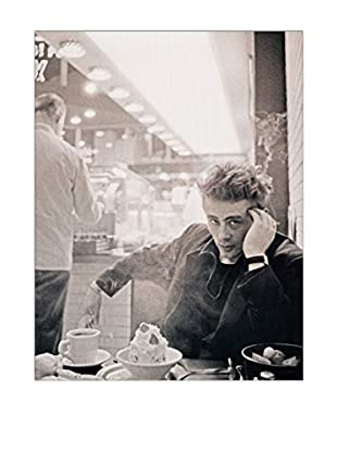 Artopweb Panel Decorativo Stock James Dean NYC 1955 60x80 cm Multicolor