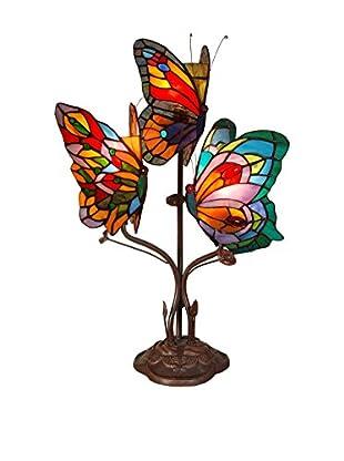 Arte Dal Mondo Tischlampe Farfalle