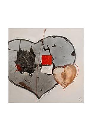 Arte Dal Mondo Lienzo Edgar Ramirez Cuori