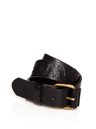 Pepe Jeans London Cinturón Starcross (Negro)
