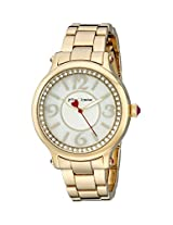 Betsey Johnson Women's BJ00524-02 Analog Display Quartz Gold Watch