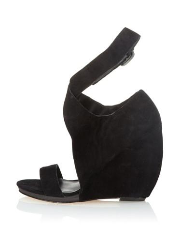 Joe's Jeans Women's Candy Ankle Wrap Sandal (Black)