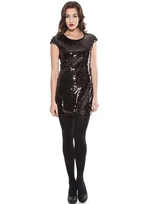 Ada Gatti Vestido Mini (Negro)