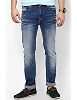 Blue Skinny Fit Jeans (Vapour) Pepe Jeans