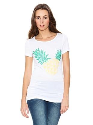 Mango Camiseta Pine (Blanco)