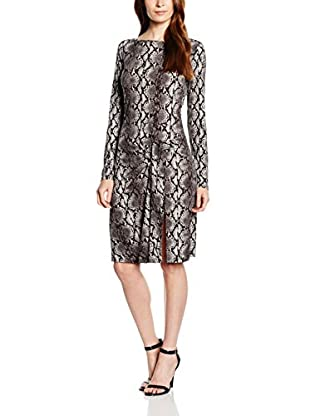 Michael Kors Kleid Anaconda Long Sleeve Dress