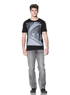 MG Black Label Men's 718 T-Shirt (Black)