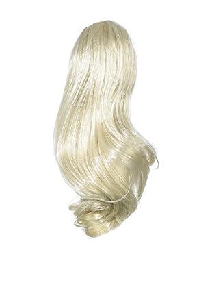 Love Hair Extensions Percilla Pferdeschwanz - Befestigung mit Krokodilklemme - Hochwertiges Kunsthaar - Farbe 613 - Cremeblond, 1er Pack (1 x 1 Stück)
