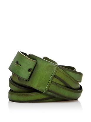 Sándalo Cinturón Tiras (Verde)