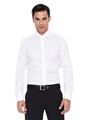 Pedro del Hierro Camisa Non Iron Canutillo Blanco Gemelos (Blanco)