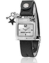 Miss Sixty Square cream Dial-Leather Strap Women's Watch -SRB002