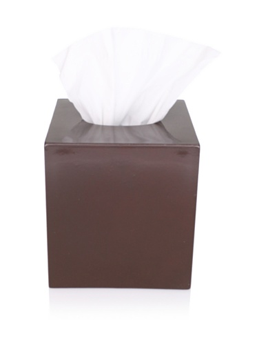 Impulse! Seville Tissue Cover, Chocolate Brown