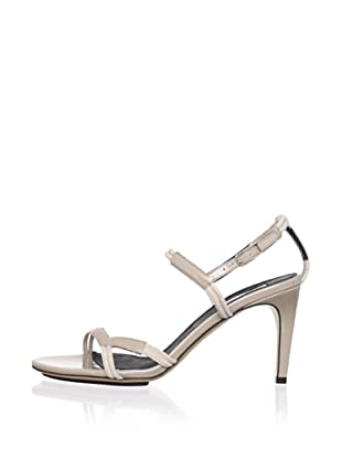 Calvin Klein Collection Women's Kani Ankle Strap Sandal (Gold/Gold)