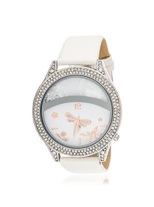 Via Nova Women's NWL308515WT-Z White Leather Watch