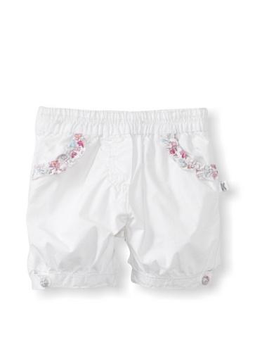KANZ Baby Woven Shorts (White)