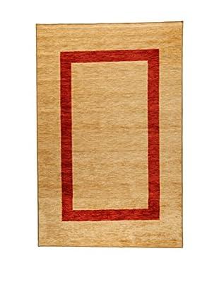 ABC Teppich Nilo Naiv beige/rot