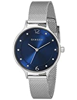 Skagen Anita Analog Blue Dial Women's Watch - SKW2307