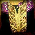 Heavy embroidered anarkali kurti