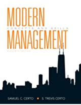 Modern Management: Concepts and Skills: United States Edition