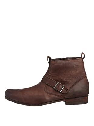 Clarks Stiefel Goto Zip (Braun/Ebony Leather)