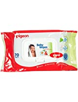 Pigeon Baby Wipes (70/Pack)
