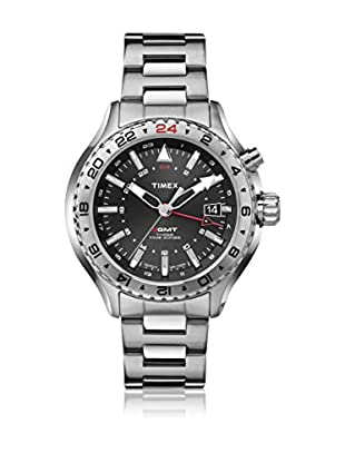 TIMEX Reloj de cuarzo Man Intelligent GMT Plateado 47 mm