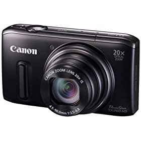 Canon fW^J PowerShot SX260HS w20{Y[ GPS@\ PSSX260HS
