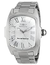 Invicta Lupah Analog Silver Dial Men's Watch - 15187