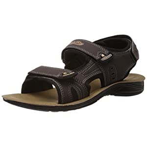 Coolers (from Liberty) Men's Brown Sandals and Floaters - 6 UK