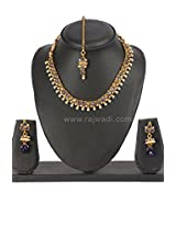 WNL9364 : Pearl Enhanced Necklace Set