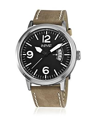 August Steiner Uhr mit Miyota Uhrwerk  braun 44 mm