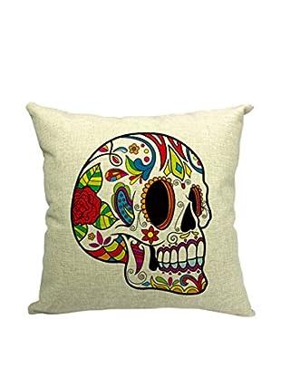 LO+DEMODA Kissenbezug Skull Color