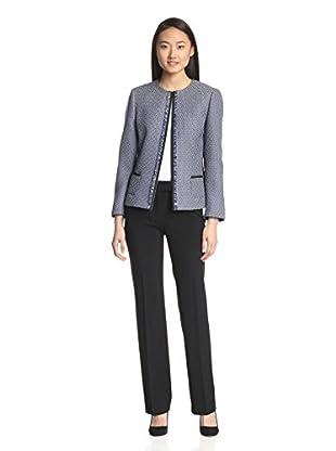 Tahari by ASL Women's Tweed Pant Suit
