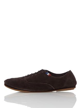 El Ganso Zapatos New Yorker Ante (Marrón)