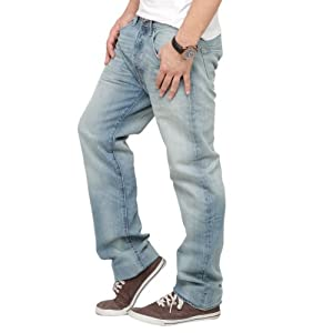 Levis Blue Denim Regular Fit Men - Jeans