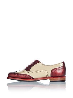 George Webb Zapatos Freya (Rojo/Beige)