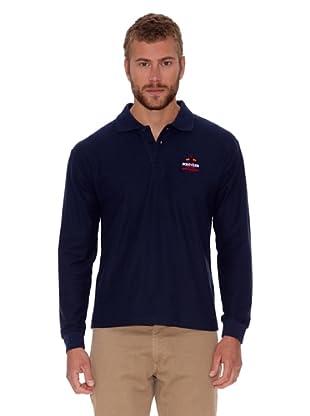 Polo Club Polo Regular Fit Liso (Azul Marino)