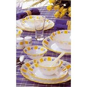 Laopala Melody Dinner Set-White